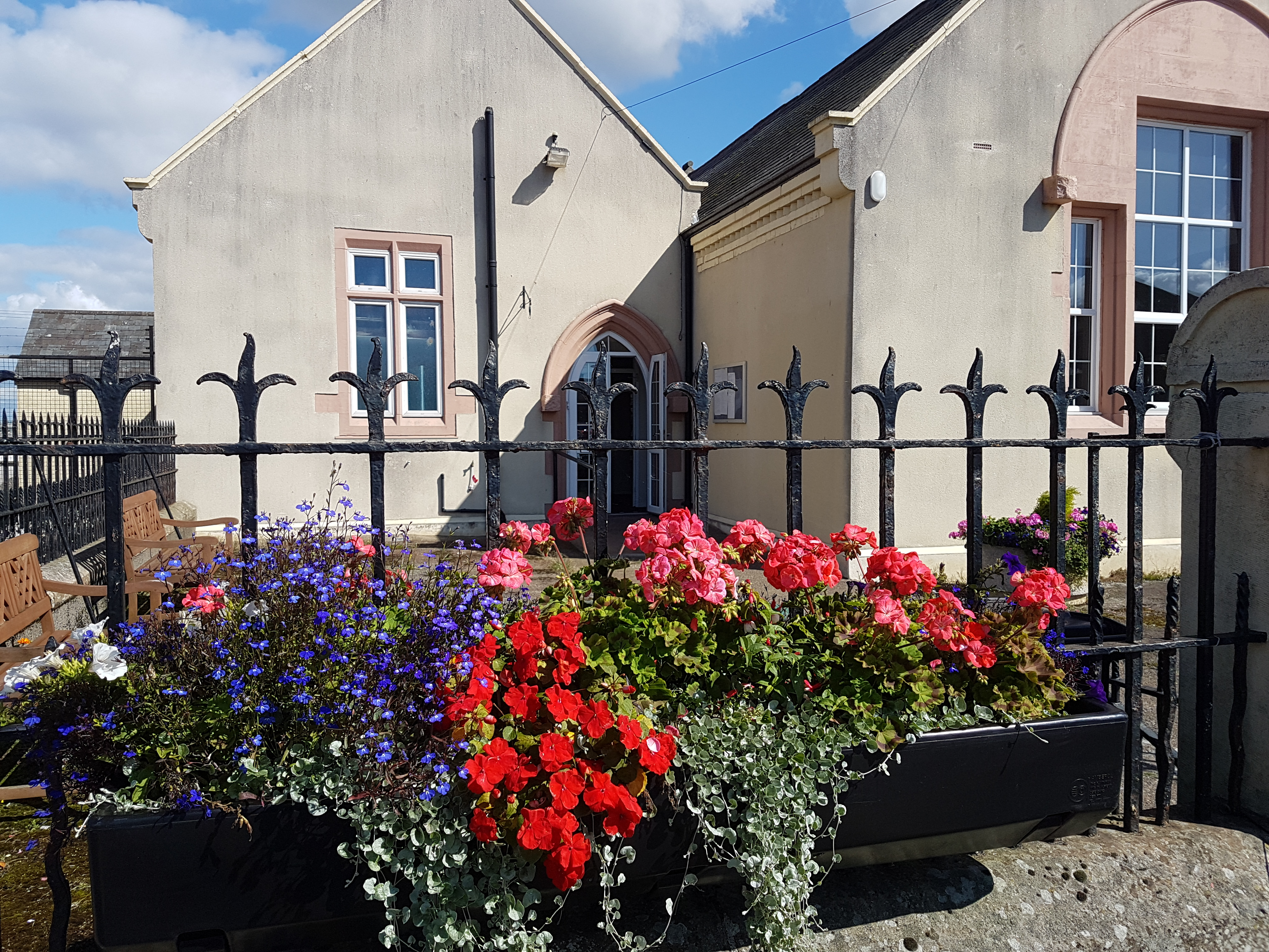 A little bit of summer at the Community Hall